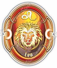 "Leo Zodiac Sign Horoscope Astrology Car Bumper Vinyl Sticker Decal 4""X5"""