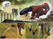 JOHN ROMITA JR giclee CANVAS Spider-Man SIGNED stretched HFA EXCLUSIVE with COA