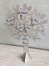 Personalised Freestanding Family Tree ~ New Home Birthday Anniversary Wedding