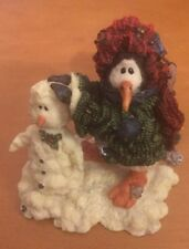 Boyds Bears & Friends Wee Folkstones Snow People Called Gaston Coldfin