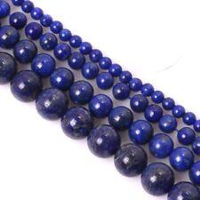 Lapislazuli Perlen Edelstein 4/6/810 mm Lapis Lazuli Schmucksteine Größe Wählen