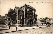 CPA   Lille - Le Théátre - Place Sébastopol (299607)