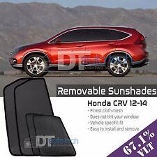Custom Fit Mesh Sun Block Visor UV Protection 4-Piece 2012-2014 CRV