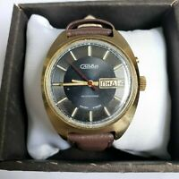 Wrist watch SLAVA Vintage 27 j Mechanical Automatic USSR Men's / Serviced