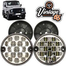 Land Rover Defender 95mm LED Clear Rear Fog Lamp Reversing Light Upgrade + Base