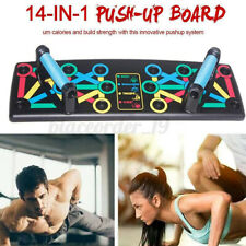 14 in1 Foldable Push-up Board Stand Fitness Workout System Gym Muscle