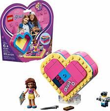 0LEGO Friends 41357 Olivia's Heart Box 85pcs Building Blocks Toy Kids Kit Sealed
