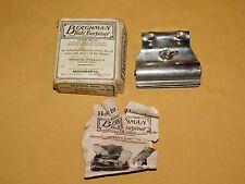 VINTAGE 1920 BERGHMAN SKATE SHARPENER IN BOX