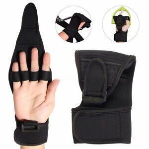 Rehabilitation Finger Gloves Brace Elderly Fist Stroke Hemiplegia Hand  U US