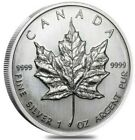 1989 1 Oz Silver $5 Canadian MAPLE LEAF Sealed Coin.