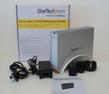 "StarTech.com USB 3.0 Trayless 3.5"" SATA IIII HDD external Enclosure with UASP"