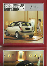 Lancia Ypsilon Brochure Mint Condition Very Stylish 8 Page Mainly Pictorial
