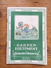 Mid 1920's Hammacher Schlemmer & Co Garden Equipment Catalog Number 625