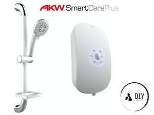 AKW Smartcare Plus Electric Care Shower Smart Home Bath 8.5KW White 29012WH