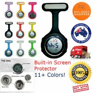 Nurse watch digital electric multi-function silicone brooch fob pocket watch