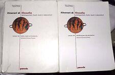 Abbagnano Fornero ITINERARI DI FILOSOFIA 1A + 1B ediz. Paravia 2002