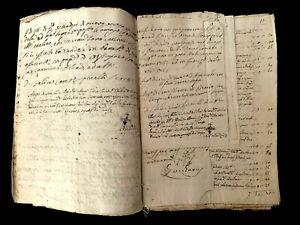 1785 OLD MANUSCRIPT  48 pages