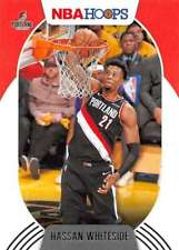 2020-21 Panini NBA Hoops #187 Hassan WHITESIDE-Portland Trail Blazers