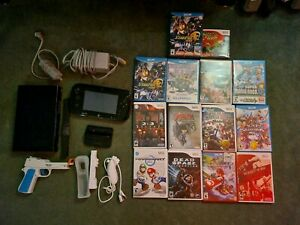 Nintendo Wii U, Games, and Accessories