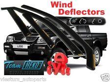 MITSUBISHI L-200   1996 - 2006  5.doors Wind deflectors  4.pc  HEKO  23342