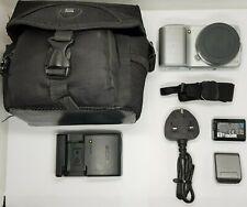 Sony Alpha NEX-3 14.2MP Digital Camera - Silver (Body only)