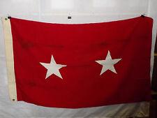 flag783 Us Army 2 Star Major General Service Flag wool bunting W9E