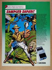 1985 BOSS DSD-2 Digital Sampler-Delay Pedal vintage print Ad
