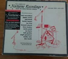 Rare Jazz 3 CD Box Set:- Various - Nocturne Recordings Jazz In Hollywood - Vol.