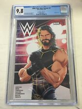 WWE Then Now Forever #1 CGC 9.8 JJUFS Seth Rollins Variant Cover