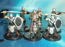 Dungeons & Dragons Miniatures Lot  Elite Town Guards City Guards !!  s116