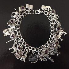 Game Of Thrones Charm Bracelet, Game Of Thrones Bracelet, Gift, Fandom,
