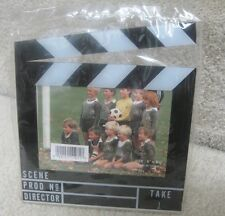 "Acrylic Picture Frame 3.5"" X 5"" Director Clapboard Brand New"
