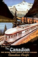 "Travel The Canadian Train Photo Refrigerator Fridge Magnet New 2""x3"""