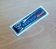 Peugeot Sport Voiture Badge côté Emblème 106 205 206 207 306 208 RALLYE Motorsport