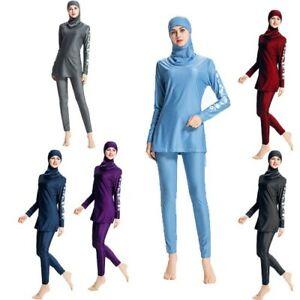 Muslim Women Swimwear Burqini Islamic Conservative Swim Bathing Suit Full Body