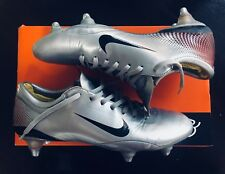 Nike Mercurial Vapor III Silver Edition UK Size 7 Ultra Rare SG - Amazing cond.