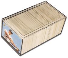 5 Pro-Mold PC400 -  2 Piece Snap Plastic Box Card Storage 400 Card Holder
