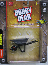 17012 Hobby Gear 1/24 Wheel Barrow Great For Dioramas & G Scale Trains