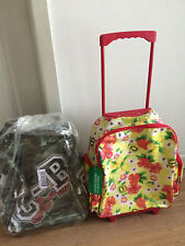 """Benetton kid trolley/backpack bag, hand carry luggage """"brand new"""" was $199"""