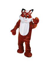 Adult One Size Fox Full Body Mascot Wildlife Animal Fancy Dress Costume BN