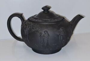 Wedgwood Black Basalt Teapot