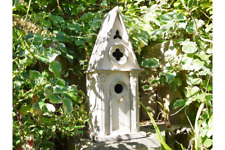 Gothic Victorian Hand Made Wooden Church Inspired Bird Box Nesting Box