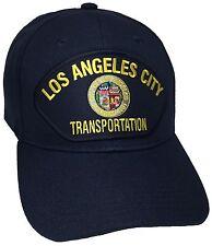 City Of Los Angeles Transportation Hat Color Navy Blue Adjustable