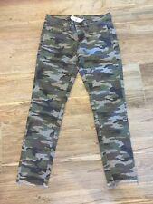 LF Carmar Camouflage Camo Denim Jeans 28 /6 Nwt $216