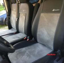 Tailored Eco-Leather & Alicante Seat Covers 2+1 VW TRANSPORTER T4 1989 - 2003