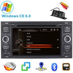 DAB Stereo Ford Transit Mk7 Kuga Galaxy S/C-max Sat Nav DVD Radio GPS Bluetooth