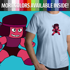 Steven Universe Ruby Garnet Crystal Gems Fusion Unisex Mens Tee Crew T-Shirt