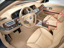 BMW 7 serie E38 matarratas Brillo Negro Frontal Rejillas De Riñón Rejilla Twin Doble tablilla