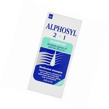 Alphosyl Medicated Shampoo Coal Tar Treats Psoriasis, Scaling, Dandruff 250ml