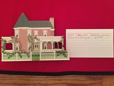 """Sheila House Aunt Pittypat's from """"Gone with the Wind"""" Atlanta, Ga 1995"""